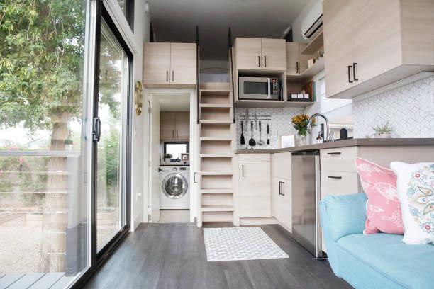 élargir une pièce étroite - meubles décoration