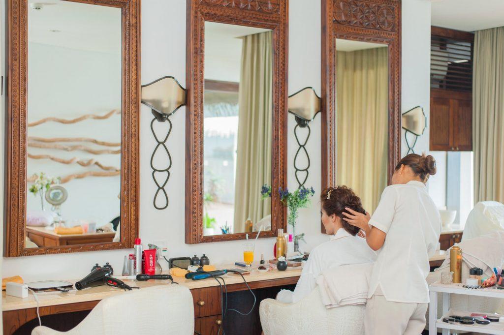 Mobilier salon coiffure design