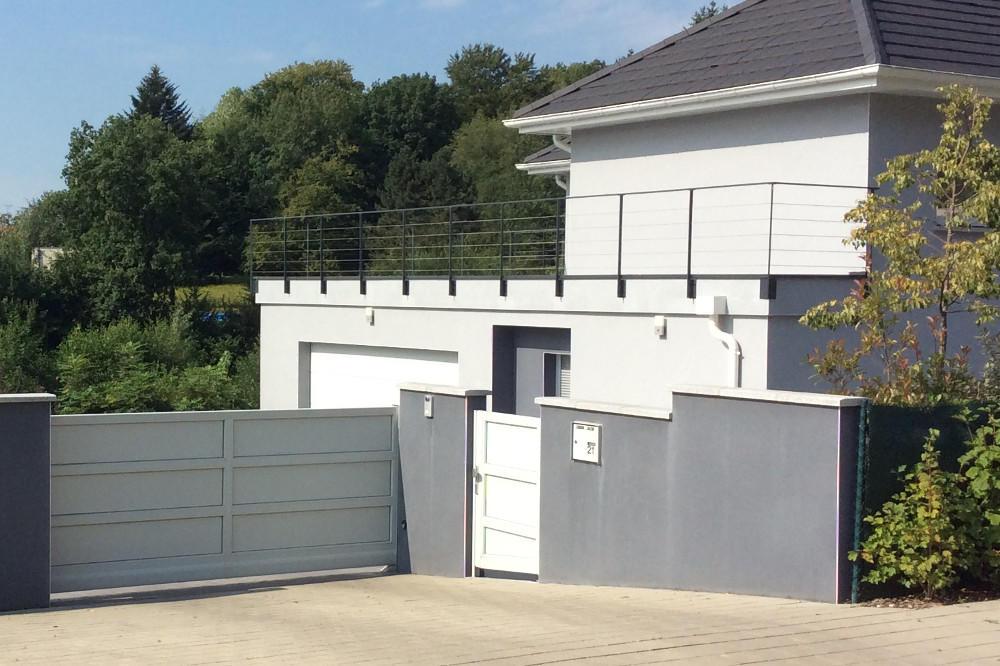 portail autoporte aluminium