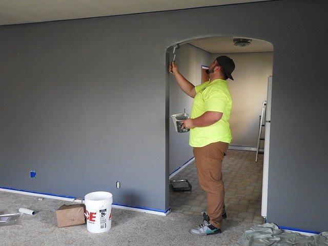 peinture rénovation maison