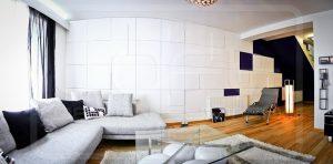 Installation de panneaux muraux design